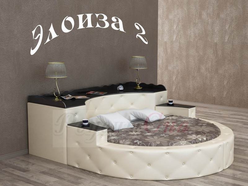 купить круглую кровать элоиза 2 по цене производителя вмк шале